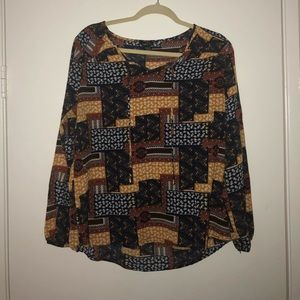 Multicolored Long sleeve Shirt